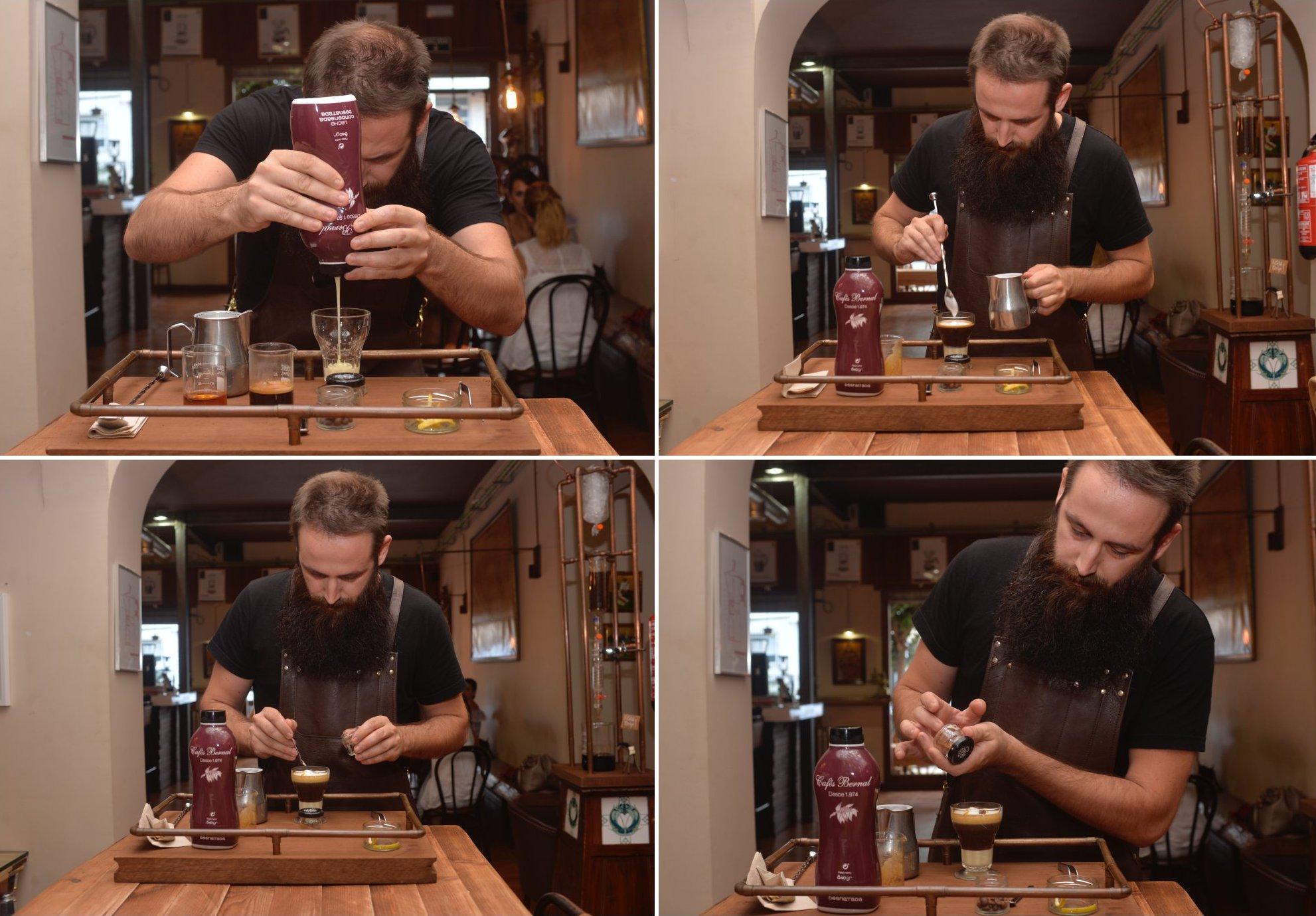Café asiático de Cartagena (Murcia): el barista Juan Antonio Martínez de 'Cafés Bernal'