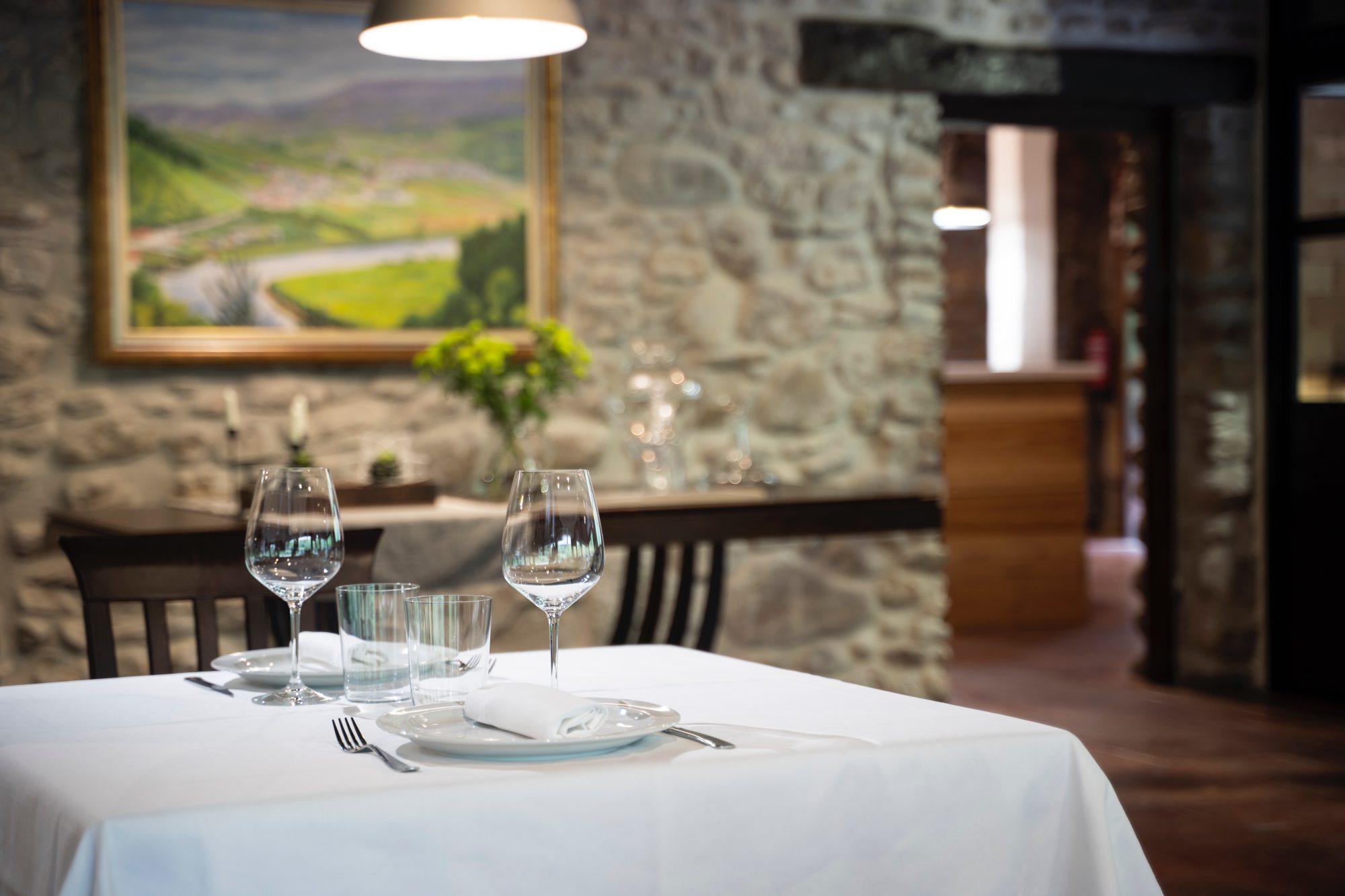 La propuesta gastronómica es en un 90 % igual a la de 'Portuetxe'. Foto: Mikel Blasco.