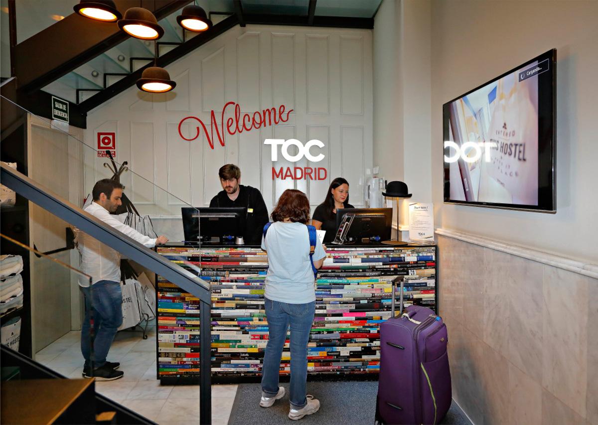 TOC Hostel - Recepción