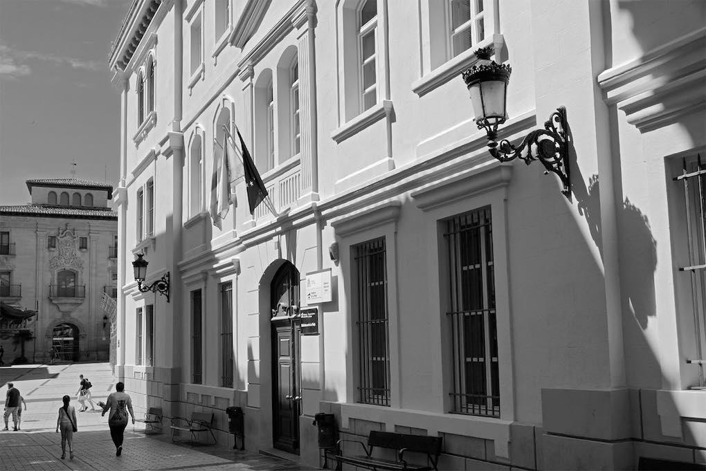 Convento, fábrica de tabaco y ahora, biblioteca. Foto: José Antonio Fontal.