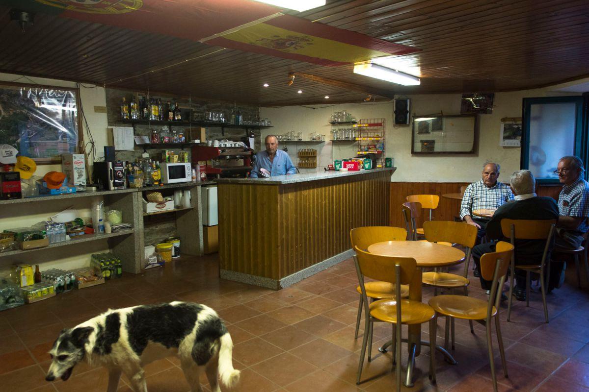 Un bar de Rio de Onor, la parte portuguesa del pueblo. Foto: Manuel Ruiz Toribio