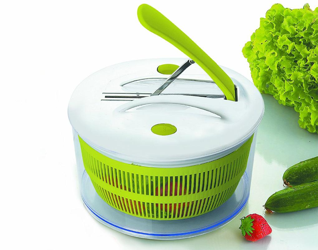 Esta centrifugadora de lechuga a pedal cuesta 12 euros en Amazon. / Foto: Amazon