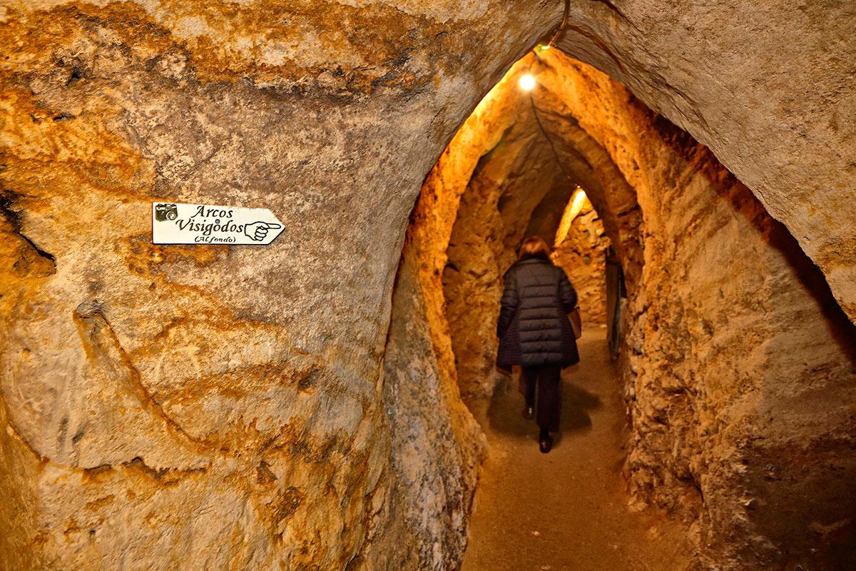 Estas cuevas esconden alrededor de 600 metros de grutas y caminos subterráneos.