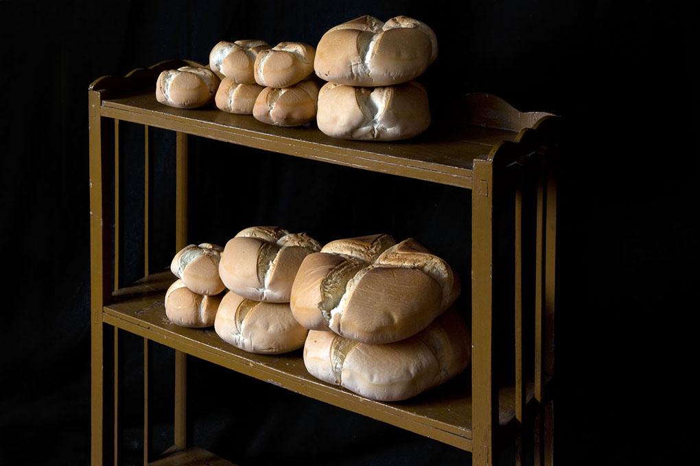 Pan de Cruz hecho.