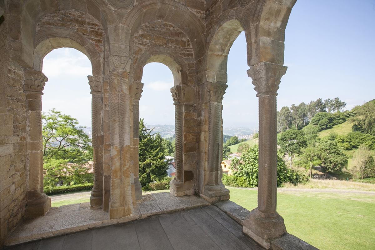 Uno de los rincones donde Nooteboom meditó sobre los reyes astures.