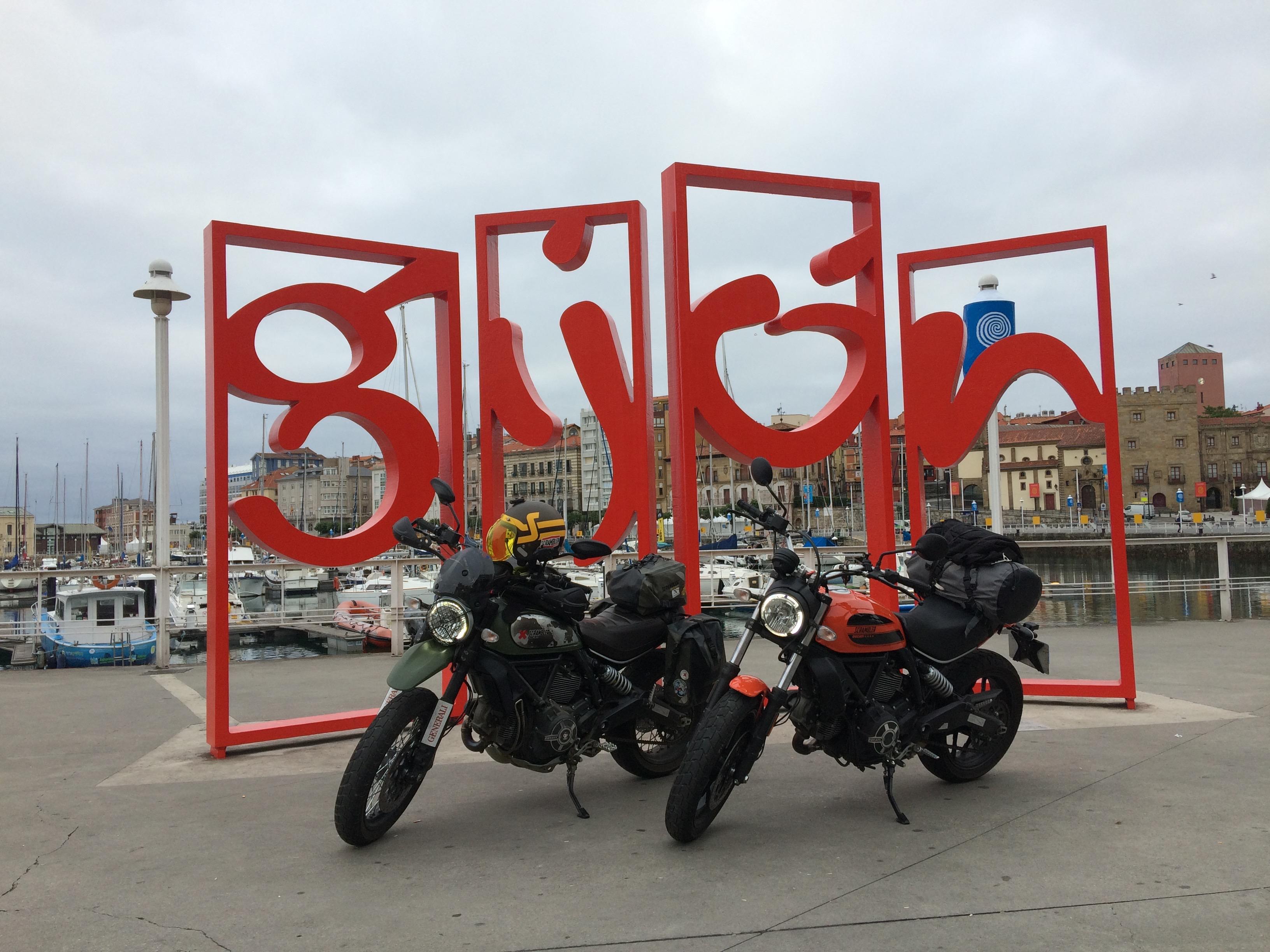 En el puerto de Gijón. Foto: A.S.