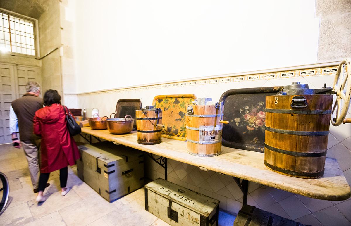 Cocinas Palacio Real: Una de las estancias de la cocina. Foto: Máximo García