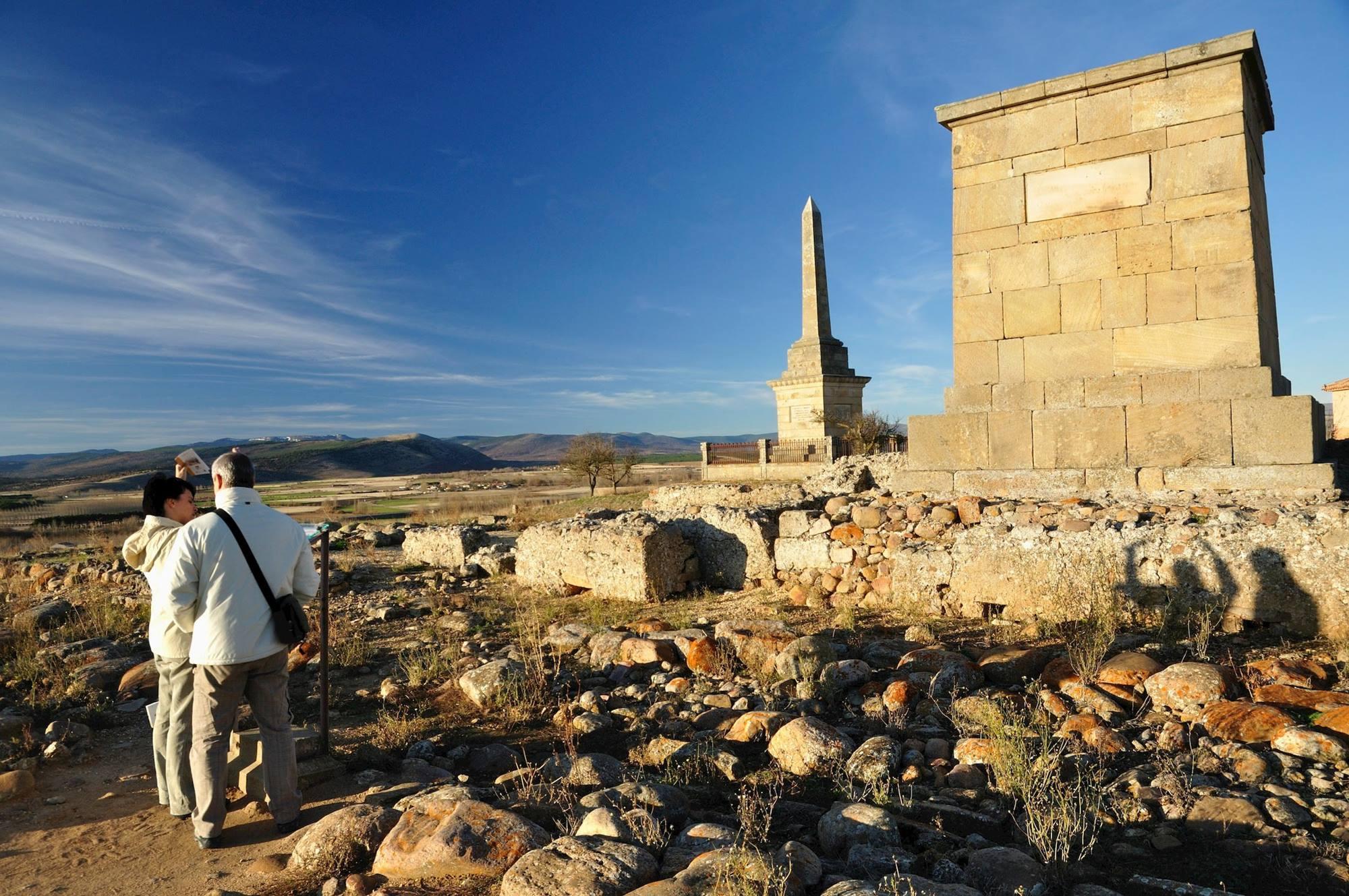Lo que queda de la antigua Numancia se encuentra en la localidad actual de Garray. Foto: Agestock