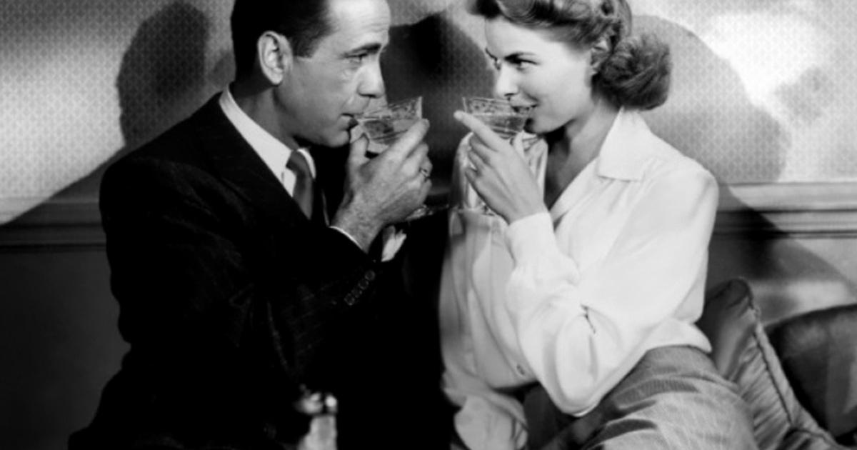 Nada como los cócteles de 'Casablanca'.