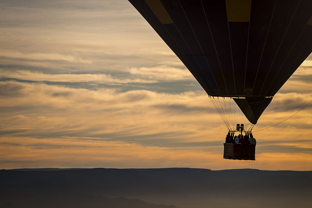 Un paseo en globo, algo inolvidable. Foto: Shutterstock
