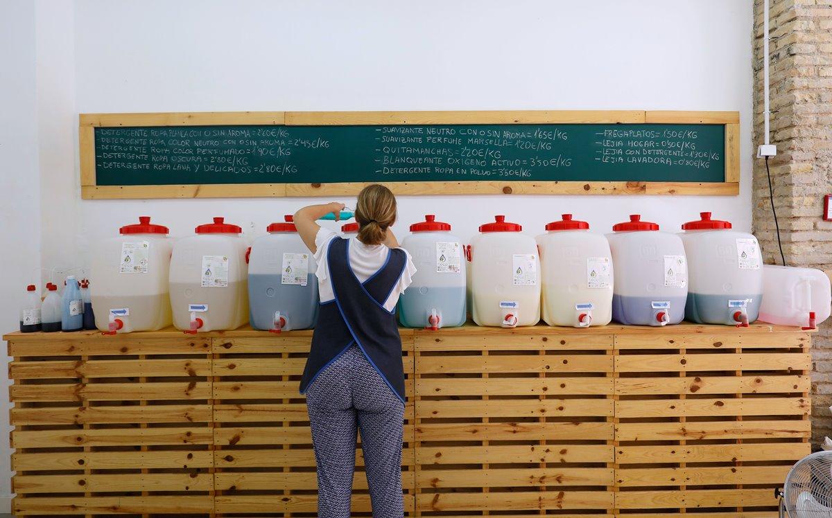 Los productos de Sabó i mes se elaboran en Corbera, a media hora de Valencia.
