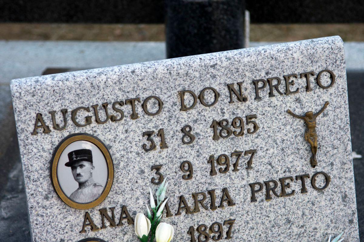 Cementerio portugués en Rio Onor de Portugal. Foto: Manuel Ruiz Toribio