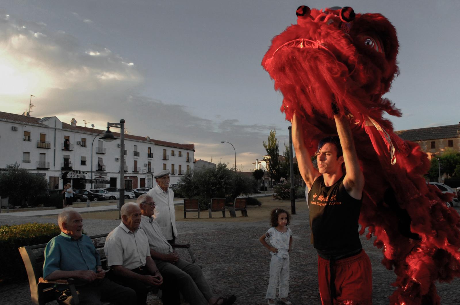 El Festival es para todos y está por todo el pueblo. Manuel Ruiz Toribio.