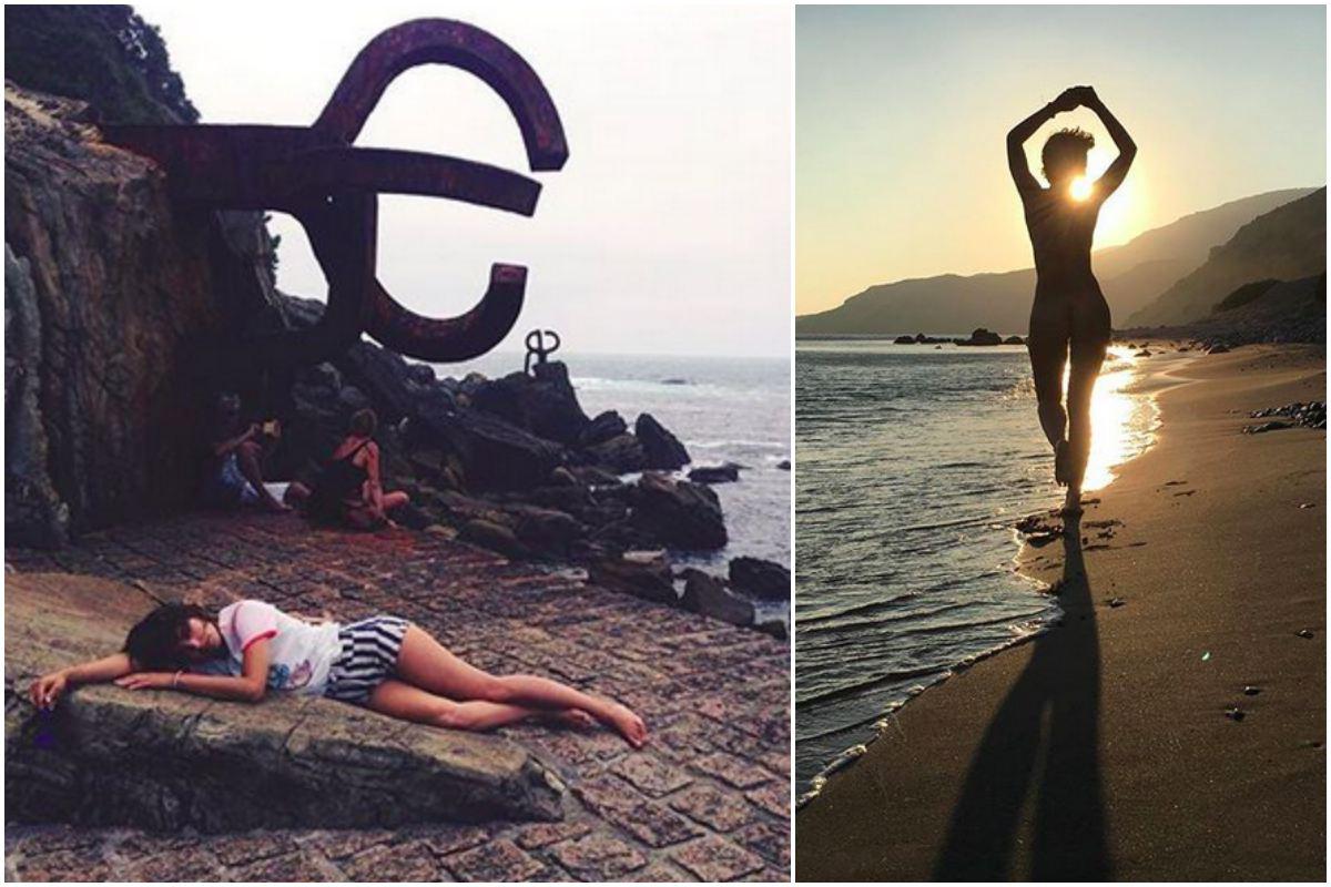 San Sebastián y las Canarias, dos destinos que adora Verónica.