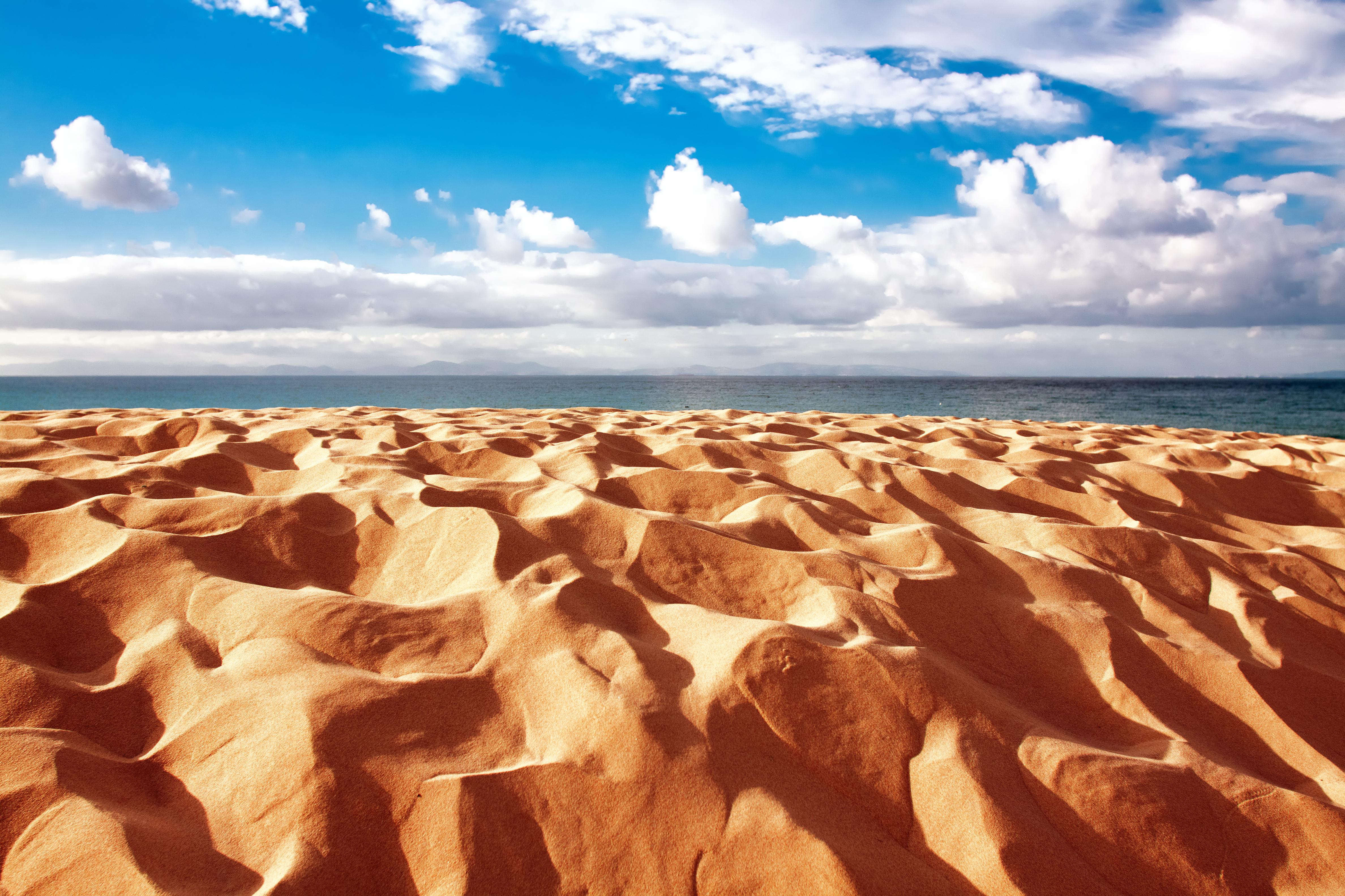 Las dunas de la bella playa de Bolonia. Foto: Shutterstock.