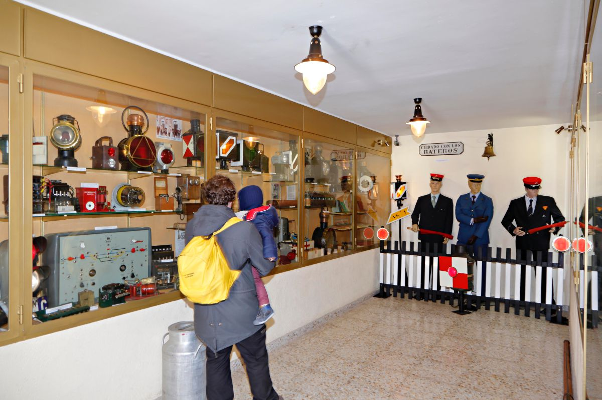 El museo del apeadero recoge auténticas joyas en torno al mundo de los trenes.