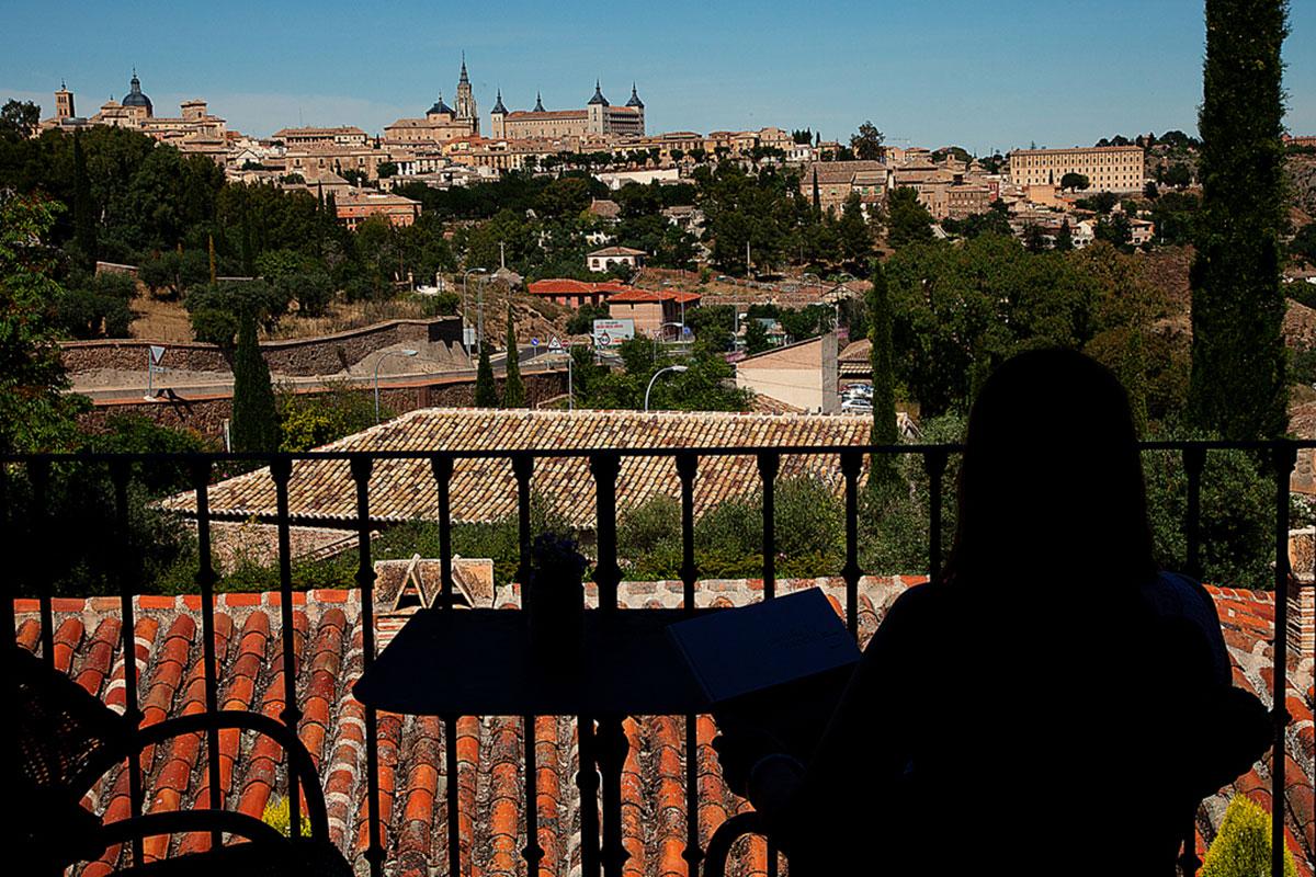 La habitación 31 ofrece las mejores vistas de Toledo y de los propios jardines del hotel.