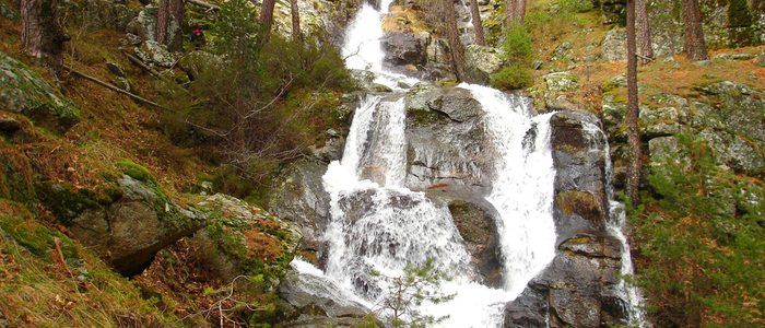 Cascada de la Chorranca. / Cedida por: Querencia de Valsaín.