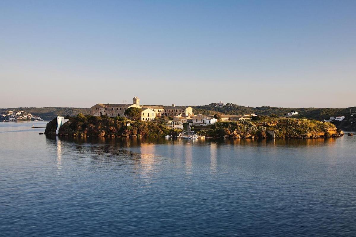 Isla del Rey, Menorca.
