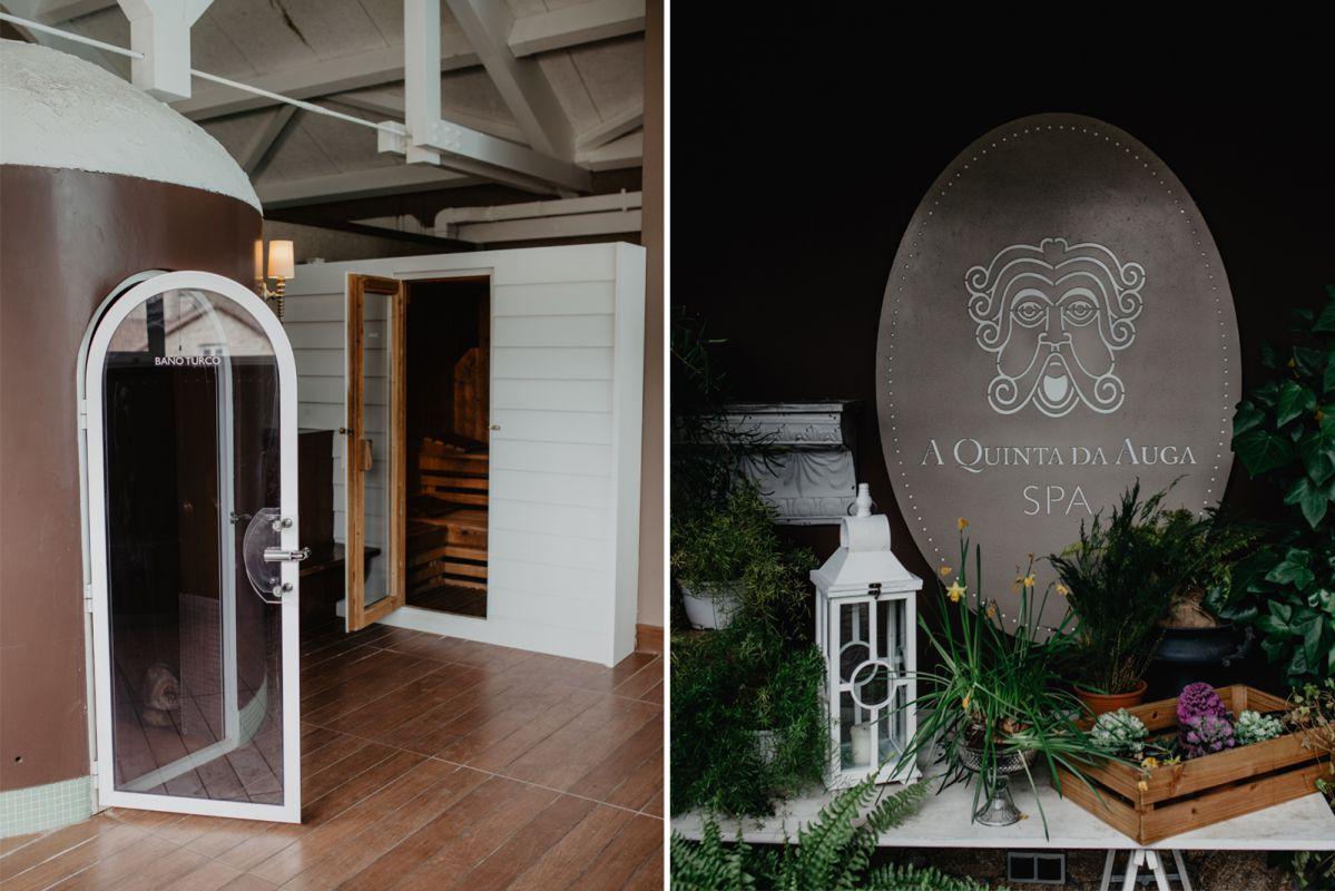 El 'spa' tiene una sauna seca y húmeda, así como una cabina de hielo.