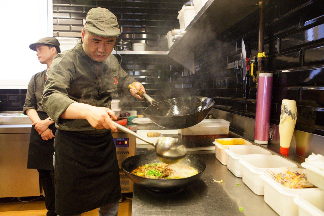 'Buda Feliz': cocina
