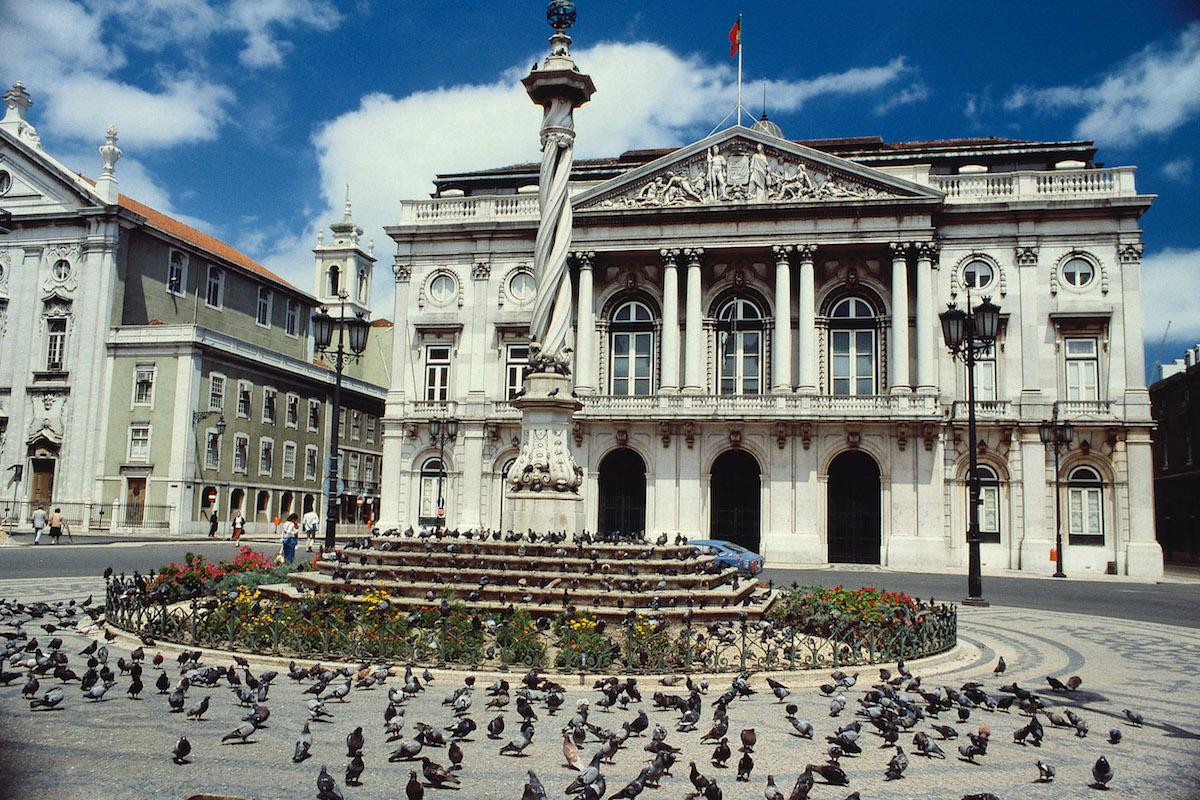 Plaza del Municipio. Foto: Turismo de Portugal.