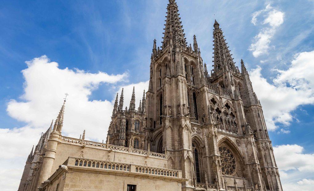 Burgos, mucho mejor con sol.