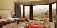Vistas a la montaña desde la habitación del Hotel Nabia, Ávila
