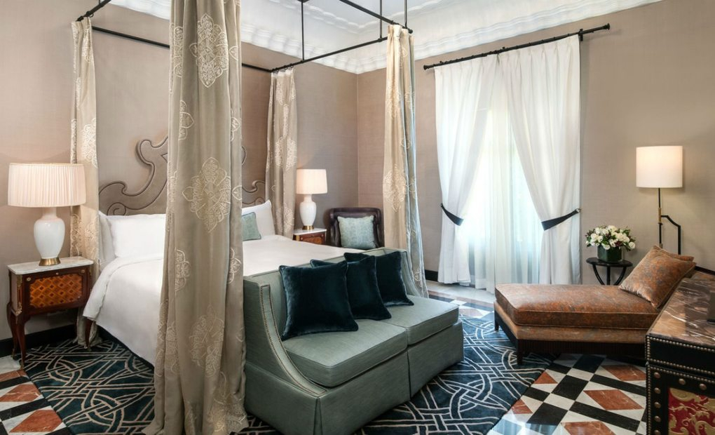 Suite Real del hotel Alfonso XIII, Sevilla