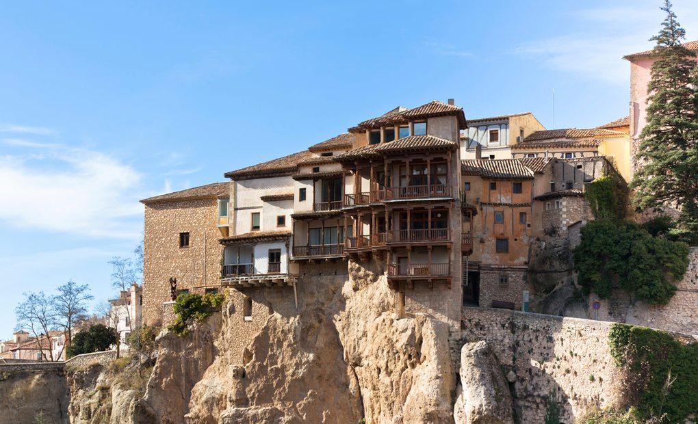 Casas colgadas de Cuenca.