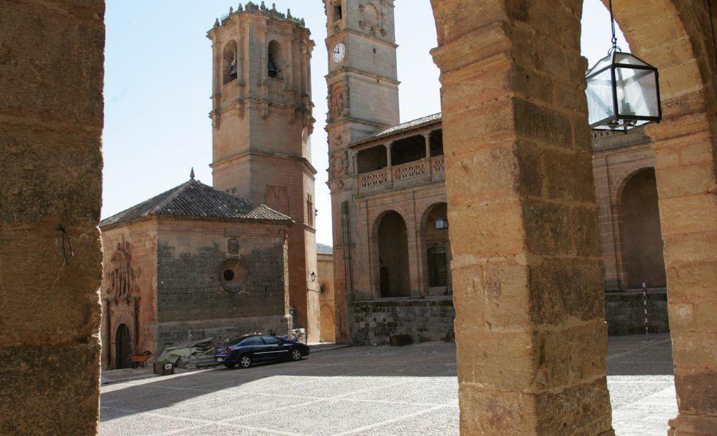 Plaza Mayor de Alcaraz.
