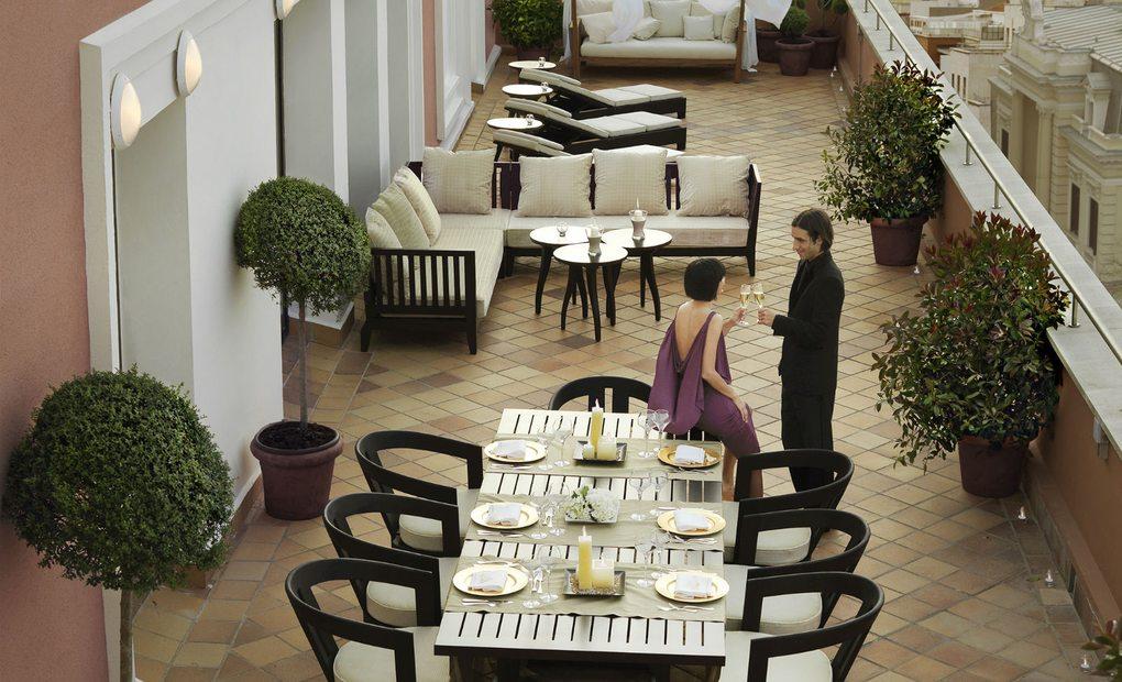 Royal Suite del hotel Intercontinental, Madrid