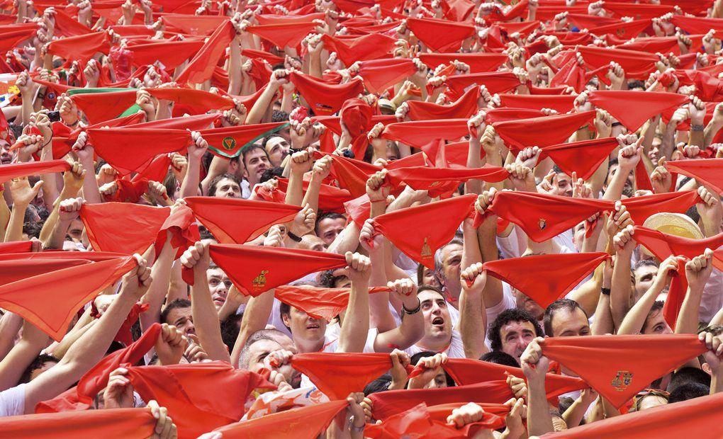 7 de julio. Sanfermín (Pamplona)