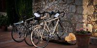 Bicicletas en la propia masía.