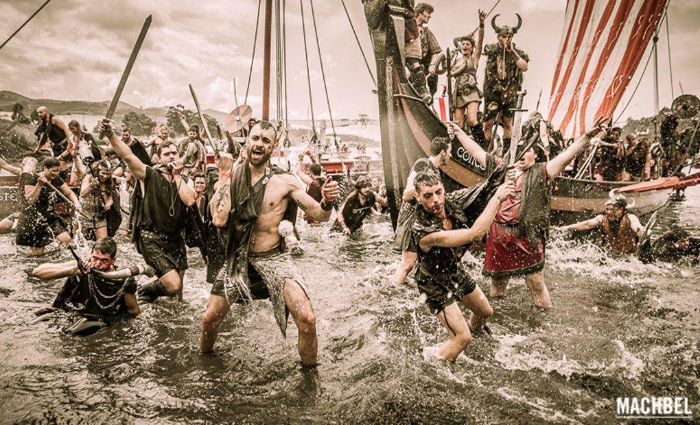 2 de agosto. Romería Vikinga (Catoira, Pontevedra)