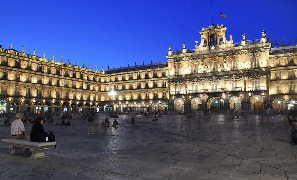 Plaza de Mayor de Salamanca.