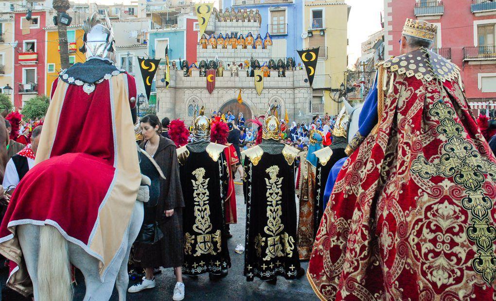 24 de julio. Fiesta de Moros y Cristianos (La Vila Joiosa, Alacant)