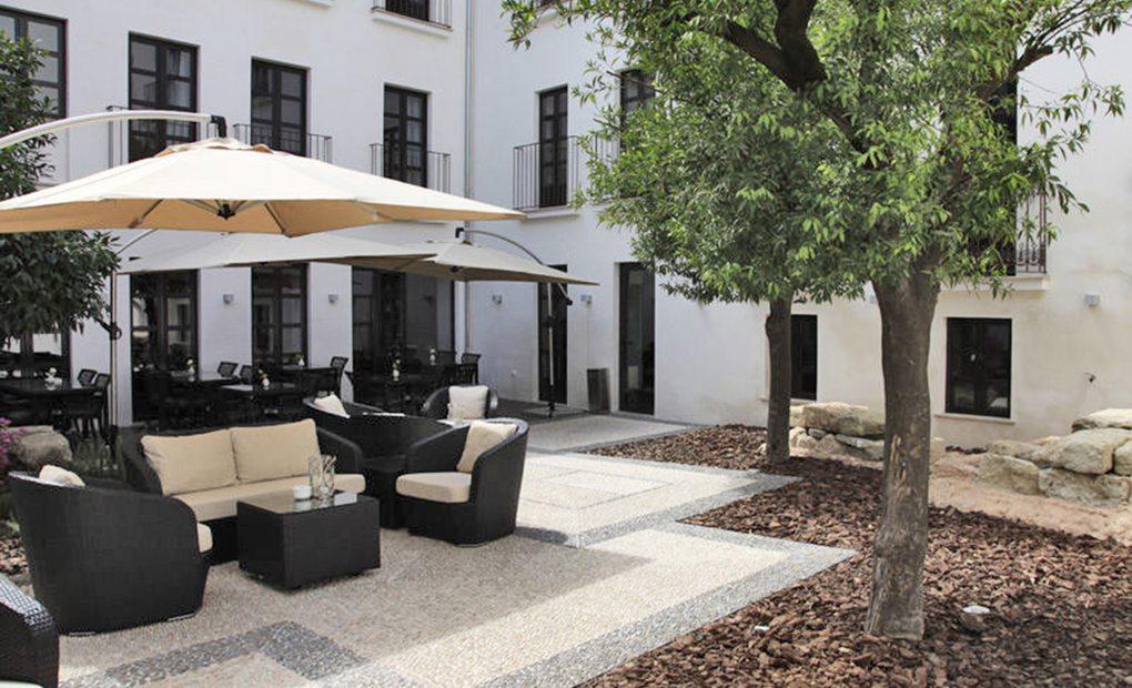 Habitaciones con vistas al pasado, hotel Eurostarts Patios de Córdoba