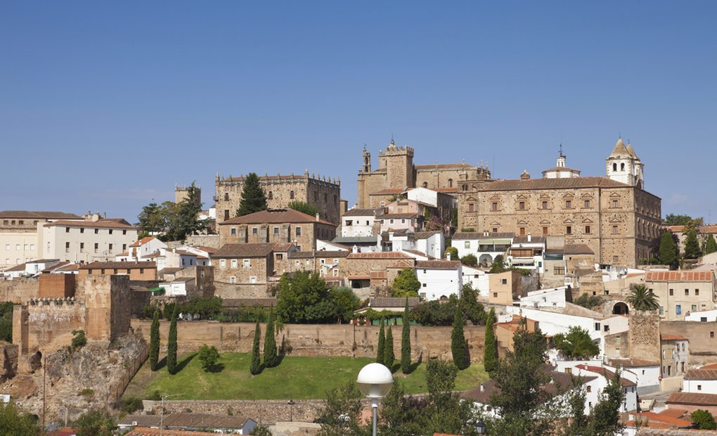 La bella Cáceres.