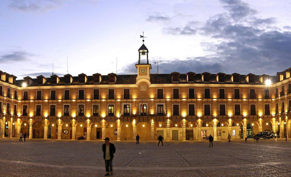 Plaza Mayor de Ocaña.