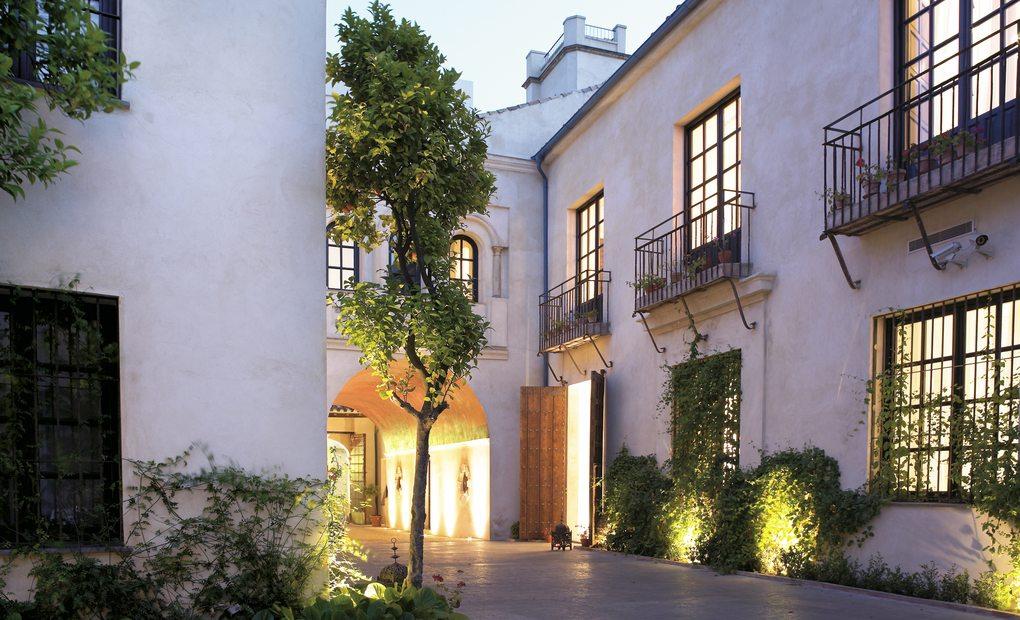 Exterior del Palacio de Bailío