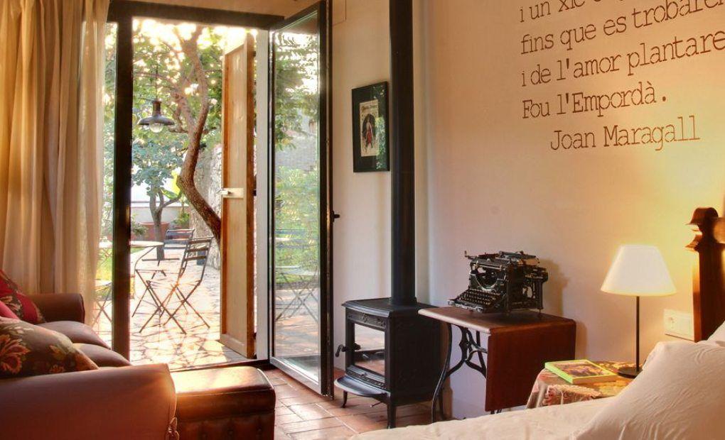 Habitación Poeta, Encís d'Empordà.
