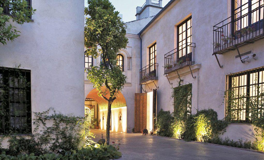 Dos mil años a nuestros pies, hotel Hospes Palacio del Bailío
