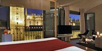 Habitación con vistas a la Giralda, hotel EME Catedral, Sevilla