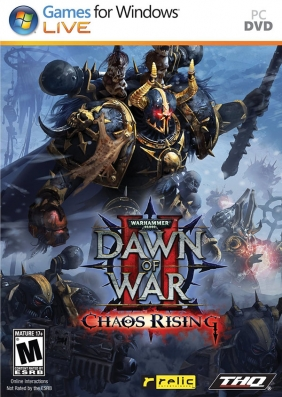 Warhammer 40,000: Dawn of War II - Chaos Rising PC Digital cover