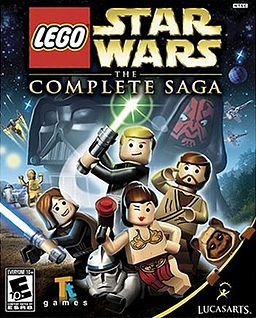 Lego Star Wars: The Complete Saga PC Digital cover
