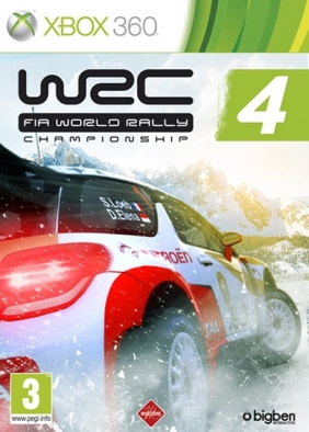 WRC 4 FIA World Rally Championship PC Digital cover