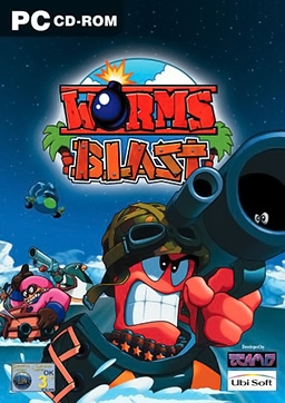Worms Blast PC Digital cover