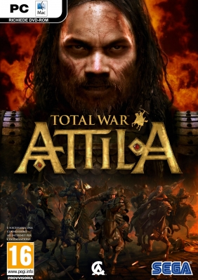Total War: Attila PC Digital cover
