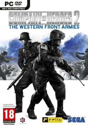 Company of Heroes 2: The Western Front Armies PC Digital cover